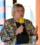 Ann-Margarethe Livh i valrörelsen 2014